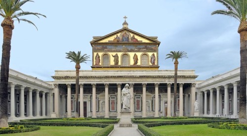 Basilica san pablo extramuros