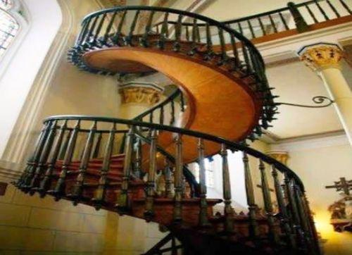 Un enorme misterio sin resolver la escalera de san jos - Fotos de escaleras caracol ...