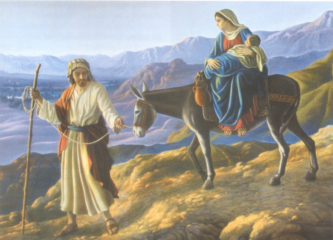 Huida y permanencia de la Sagrada Familia en Egipto: visión de María Valtorta