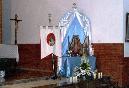07 La Virgen encuetra su lugar en la Iglesia