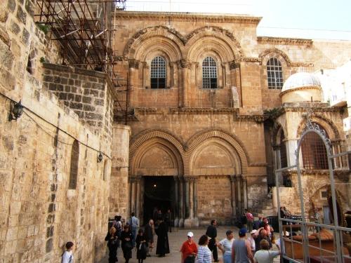 Basilica del santo Sepulcro en Tierra Santa