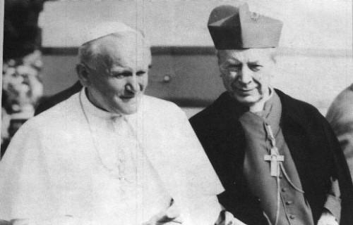 Papa Juan Pablo II y Cardenal Stefan Wyszynski
