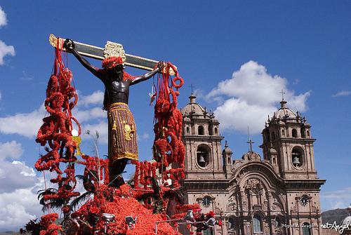 Señor de los Temblores de Perú