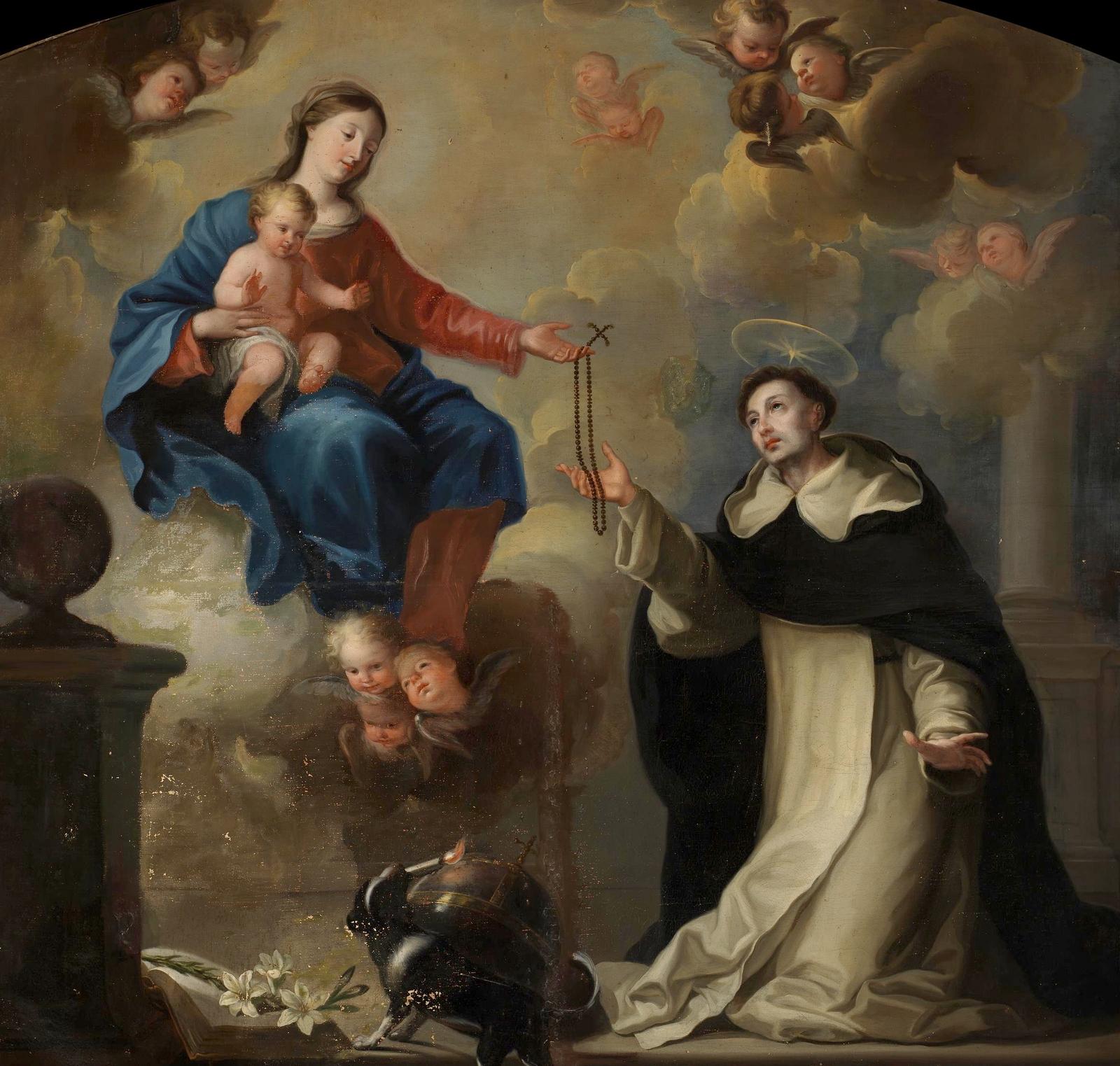 Por qu el milagro del sol de ftima fue para insistir en el rezo maria la entrega el rosario a santo domingo museo de el prado thecheapjerseys Choice Image