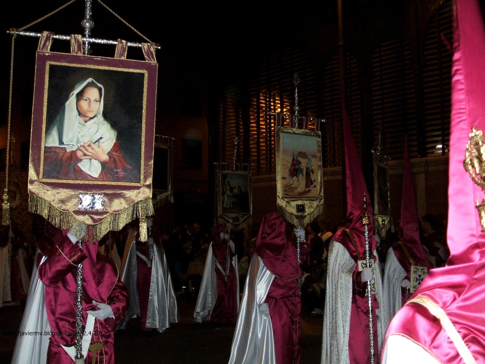 Coronilla de los Siete Dolores de María, Revelada a Santa Brígida