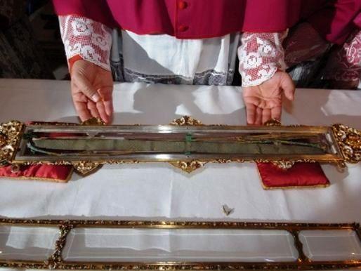 Resultado de imagen para Dónde está el cinturón que la Virgen le dejó a Tomás