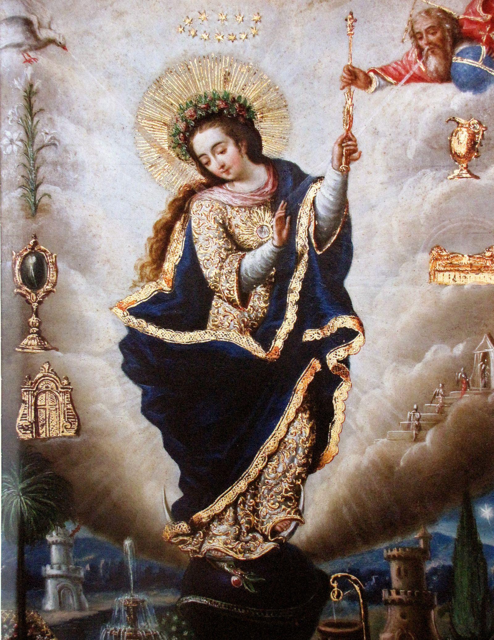 Novena a la Inmaculada Concepción [comienza el 29 de noviembre]