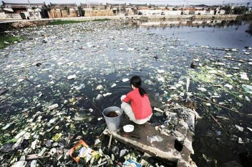 contaminacion de agua en china