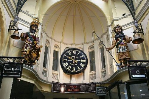 Gog y Magog - Royal Arcade - Melbourne