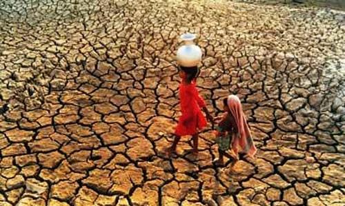falta de agua en africa