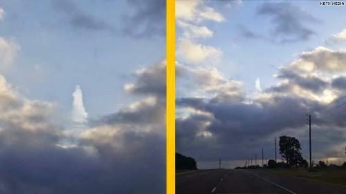 imagen de cristoen el cielo