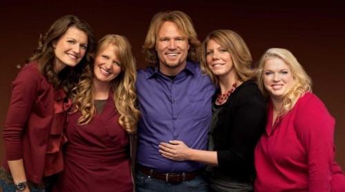 kody brown y sus 4 esposas en el reality Sisters Wives