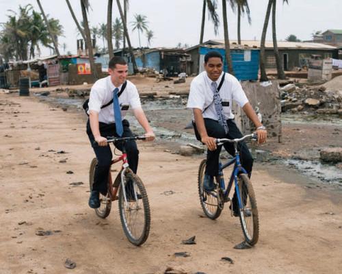 misioneros mormones