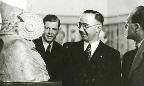 Himmler en Museo Arqueologico de Elche