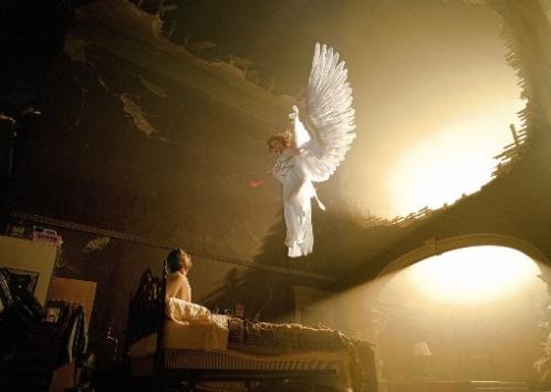 angel en un hospital