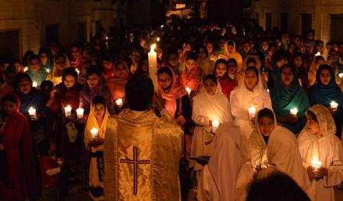 cristianos pascua pakistan fondo
