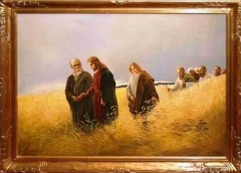 ¿Una Foto de la Aparición de Cristo con sus Apóstoles o una Enigmática Pintura?