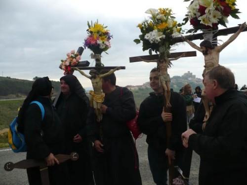 CRISTOS floridos de uxue