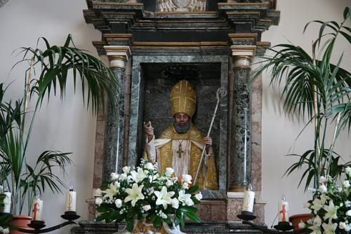 altar dedicado a san gregorio