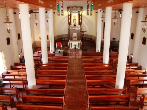 interior de basilica wan jin
