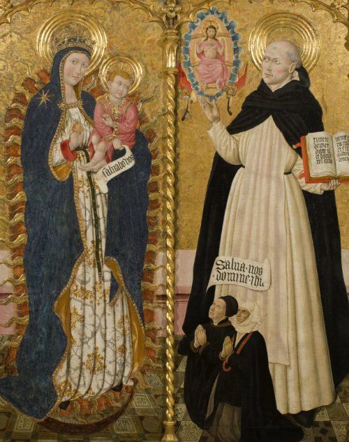 Virgen y San Vicente Ferrer