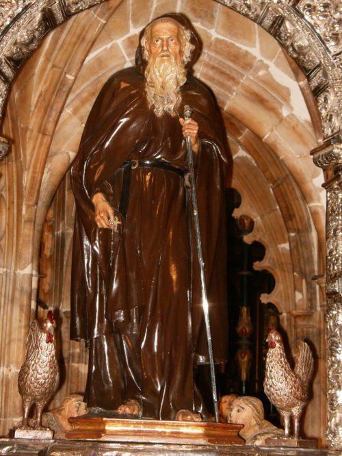 escultura de santo domingo de la calzada