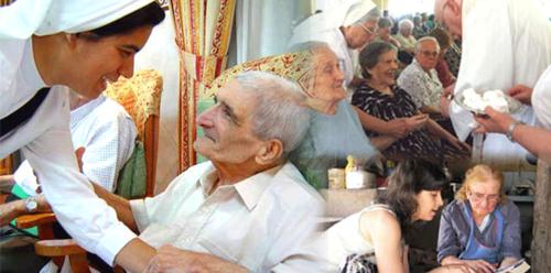 monja con enferma