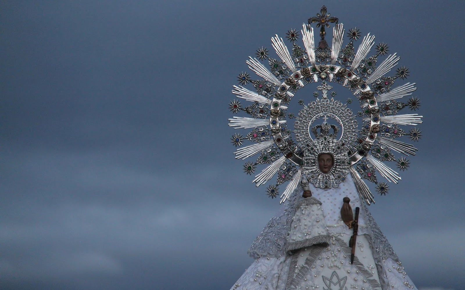 Nuestra Señora de Valverde de Fuencarral, Apareció en Resplandor, España (25 abr)