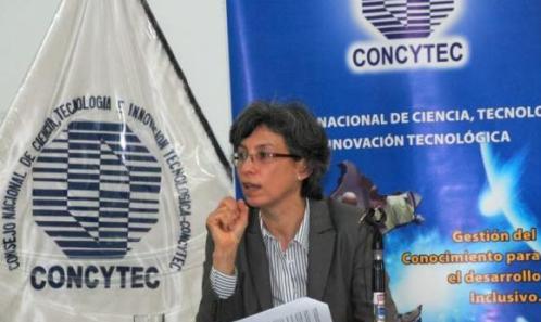 Peru_Gisella Orjeda, presidenta de Conytec