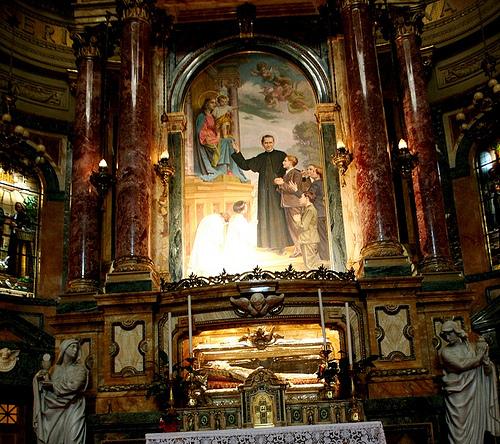 altar de don bosco