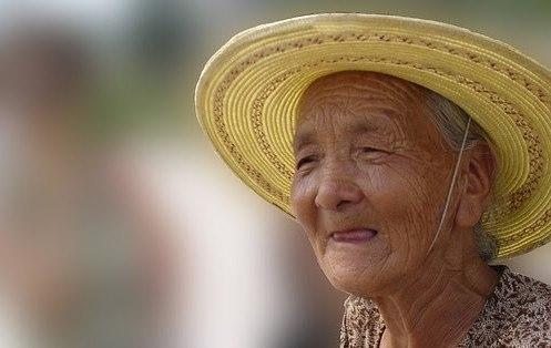 anciana china