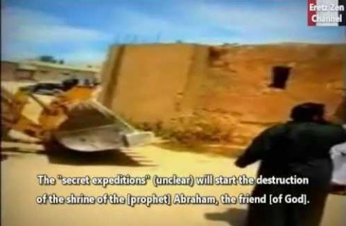 destruccion de templo de abraham
