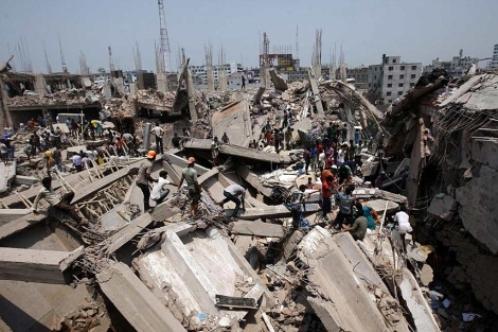 fabrica de balgladesh colapsada