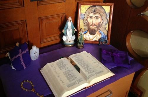altar en casa