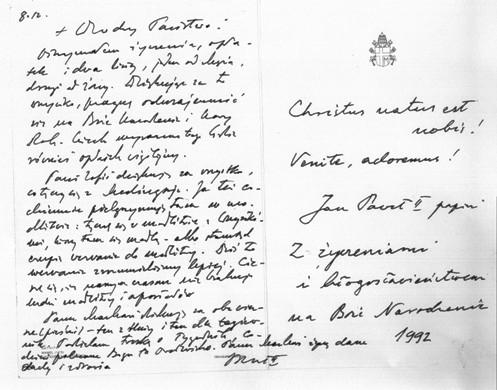 carta de juan pablo ii