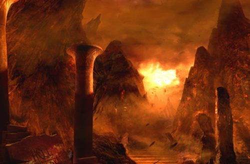 columnas del infierno