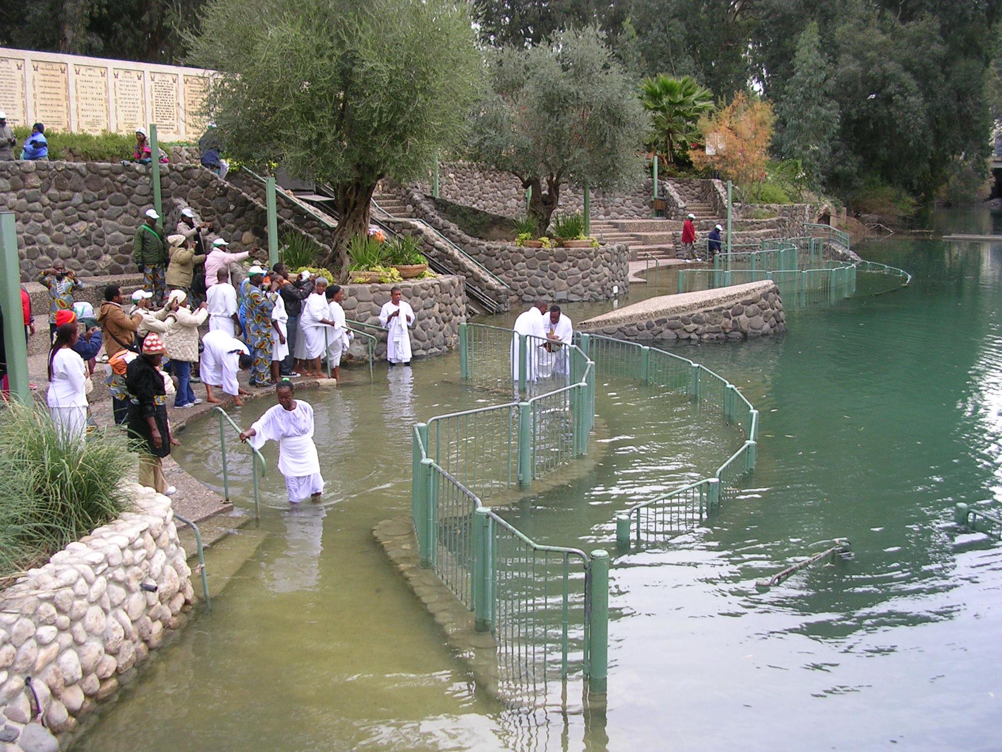 Este es el Lugar Verdadero del Bautismo de Jesús en el Jordán