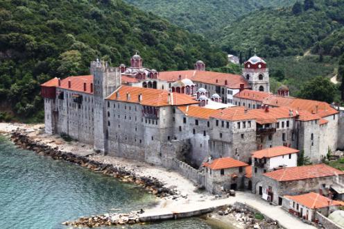 monasterio Esphigmenou