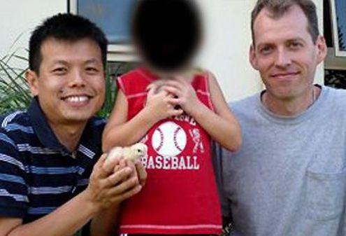 pareja homosexual con hijo violado
