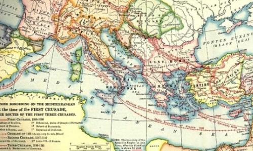 rutas de las cruzadas