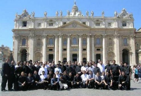 seminaristas en vaticano