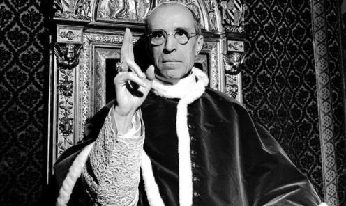 Pio XII-bendice
