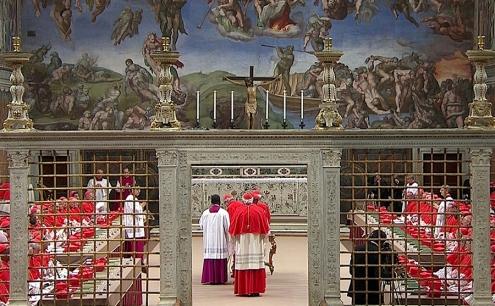conclave en capilla sixtina