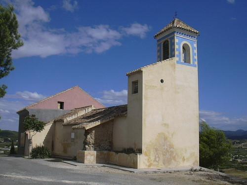 ermita de la virgen de la peña de Cehegín