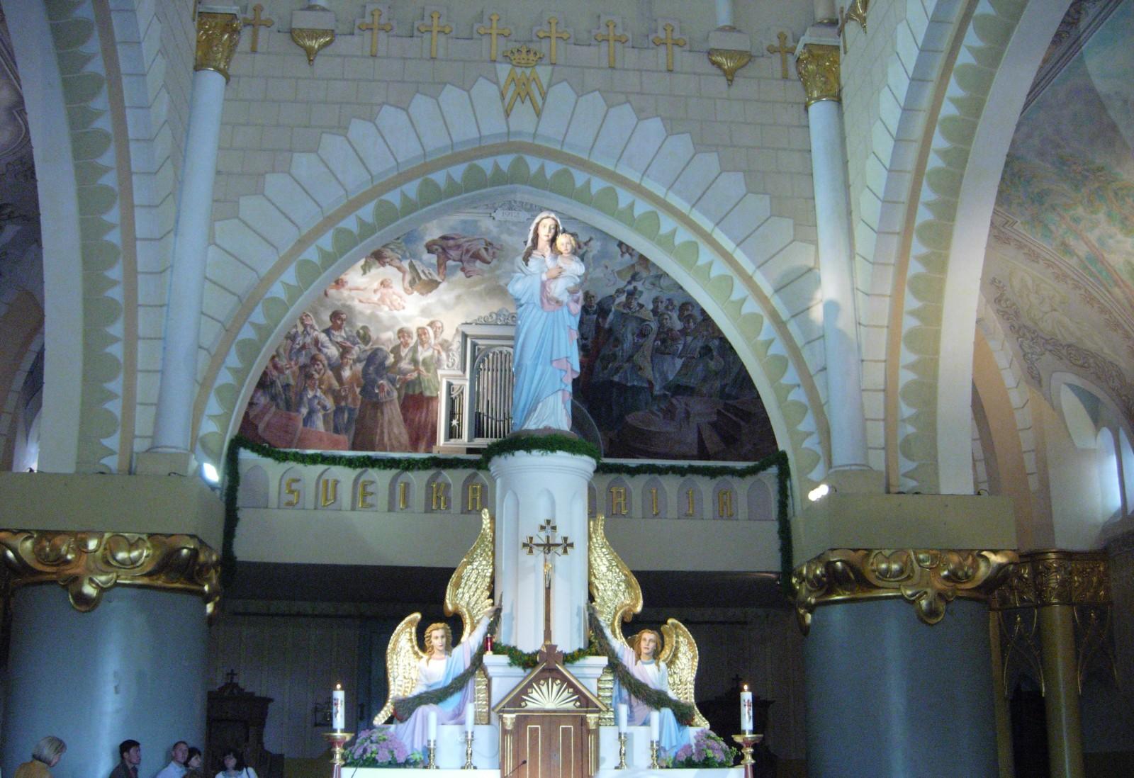 Nuestra Señora de Siluva, Aparición que Pide Volver a la Fe Católica, Lituania (17 ago)