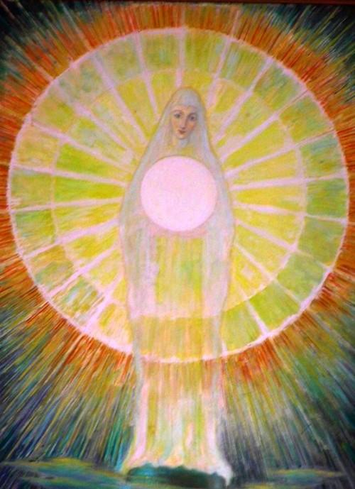icono de la apricione maria tabernaculo