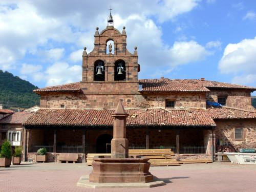 iglesia de san andres de valgañon