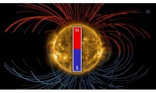 inversion del campo magnetico del sol