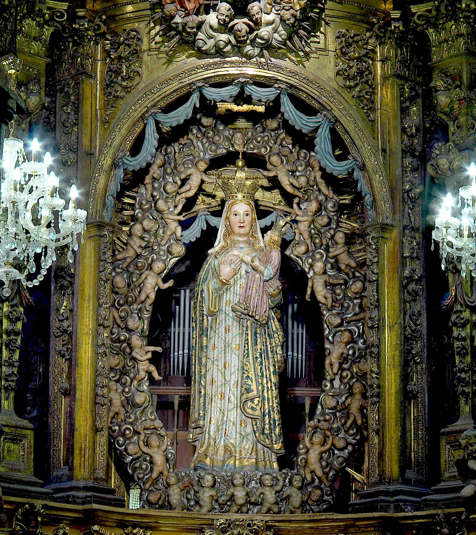 Virgen de los Ojos Grandes, la de Curaciones Prodigiosas, España (15 ago)