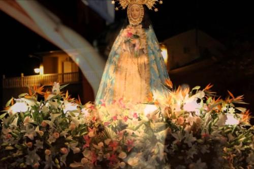 procesion virgen de la peña de murcia
